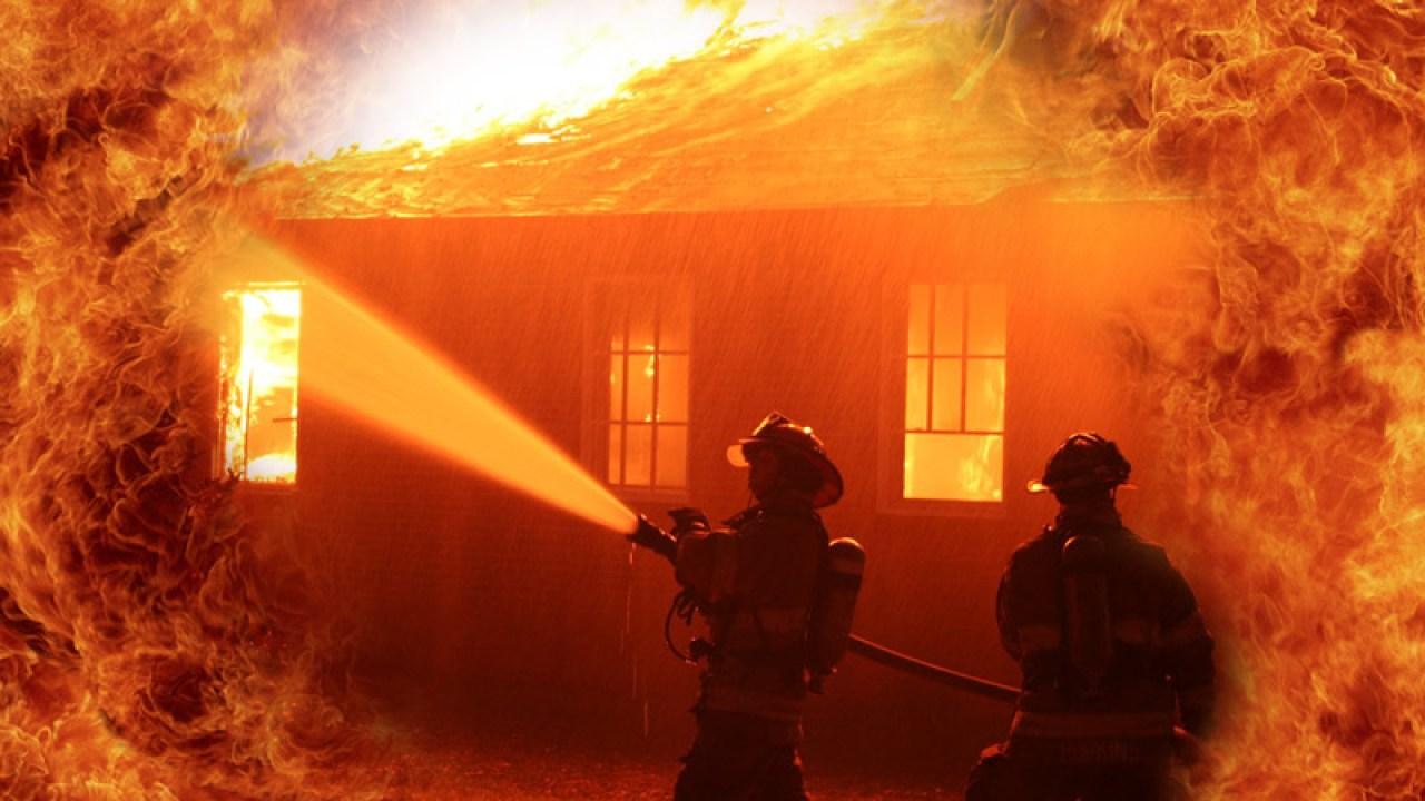 St. Peters-Bewohner verletzt übernachtung Haus Feuer