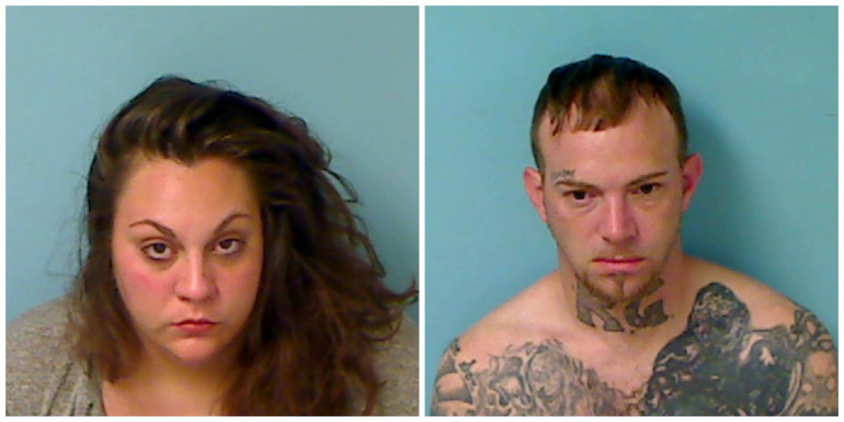 Naked couple eating pizza arrested after traffic stop