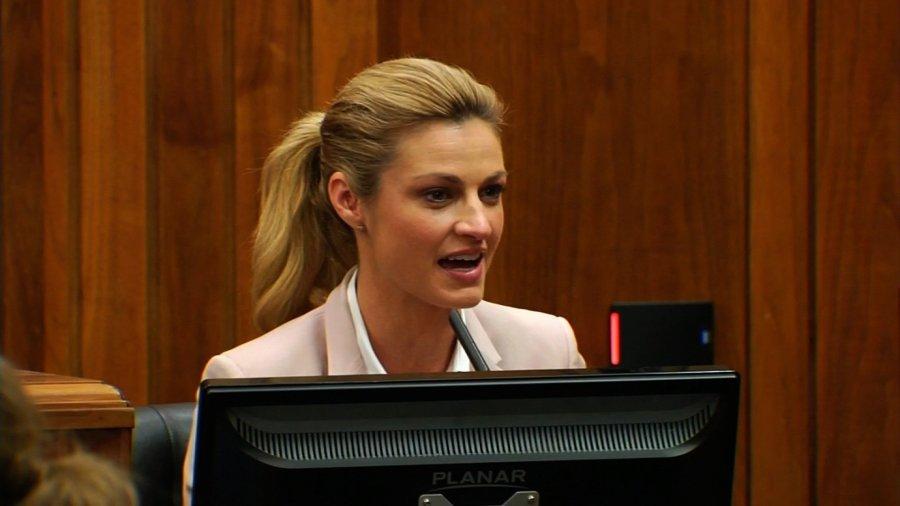 Sportscaster Erin Andrews Tearfully Testifies In $75