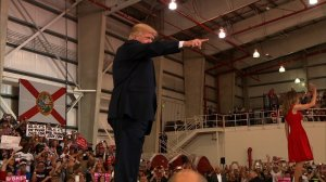Pres. Donald Trump holds a campaign-style rally for supporters in Melbourne, Florida. (2/18/17)