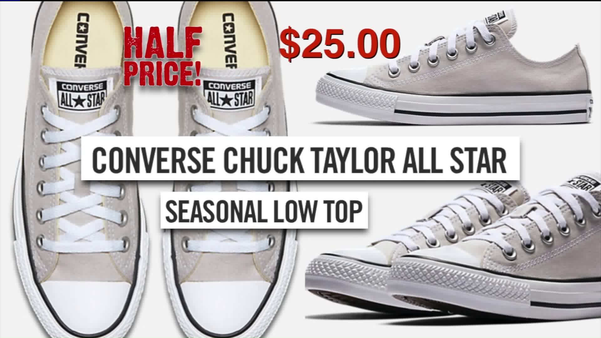 Half price Converse Chuck Taylor All