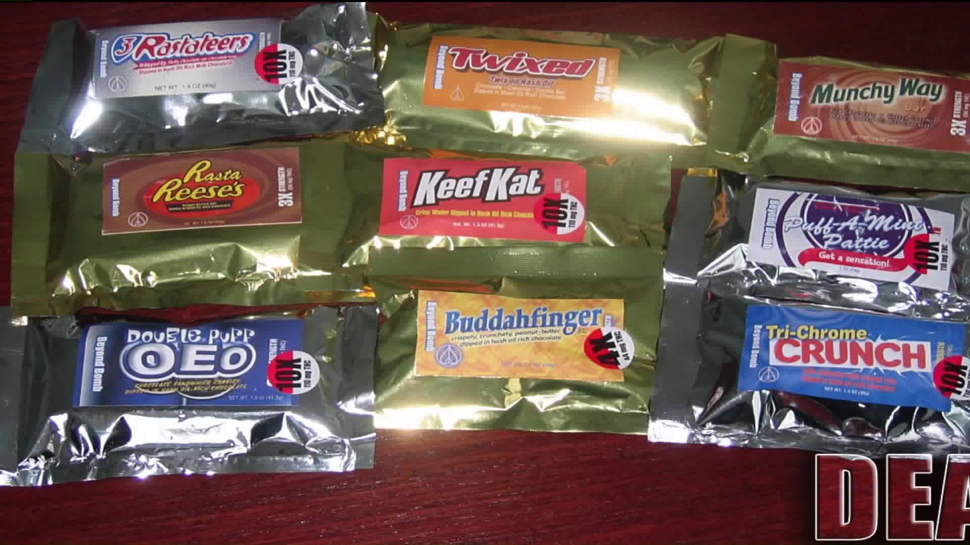 Dea 2020 Press Release Halloween Candy DEA warns parents about drug laced look alike Halloween candy | FOX 2
