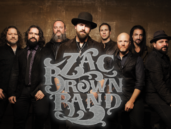 Zac Brown Band tour dates begin in late July
