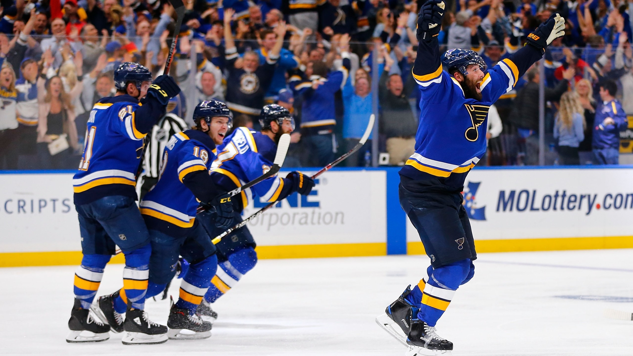 Play Gloria St Louis Blues Win 2ot Thriller To Defeat Dallas And