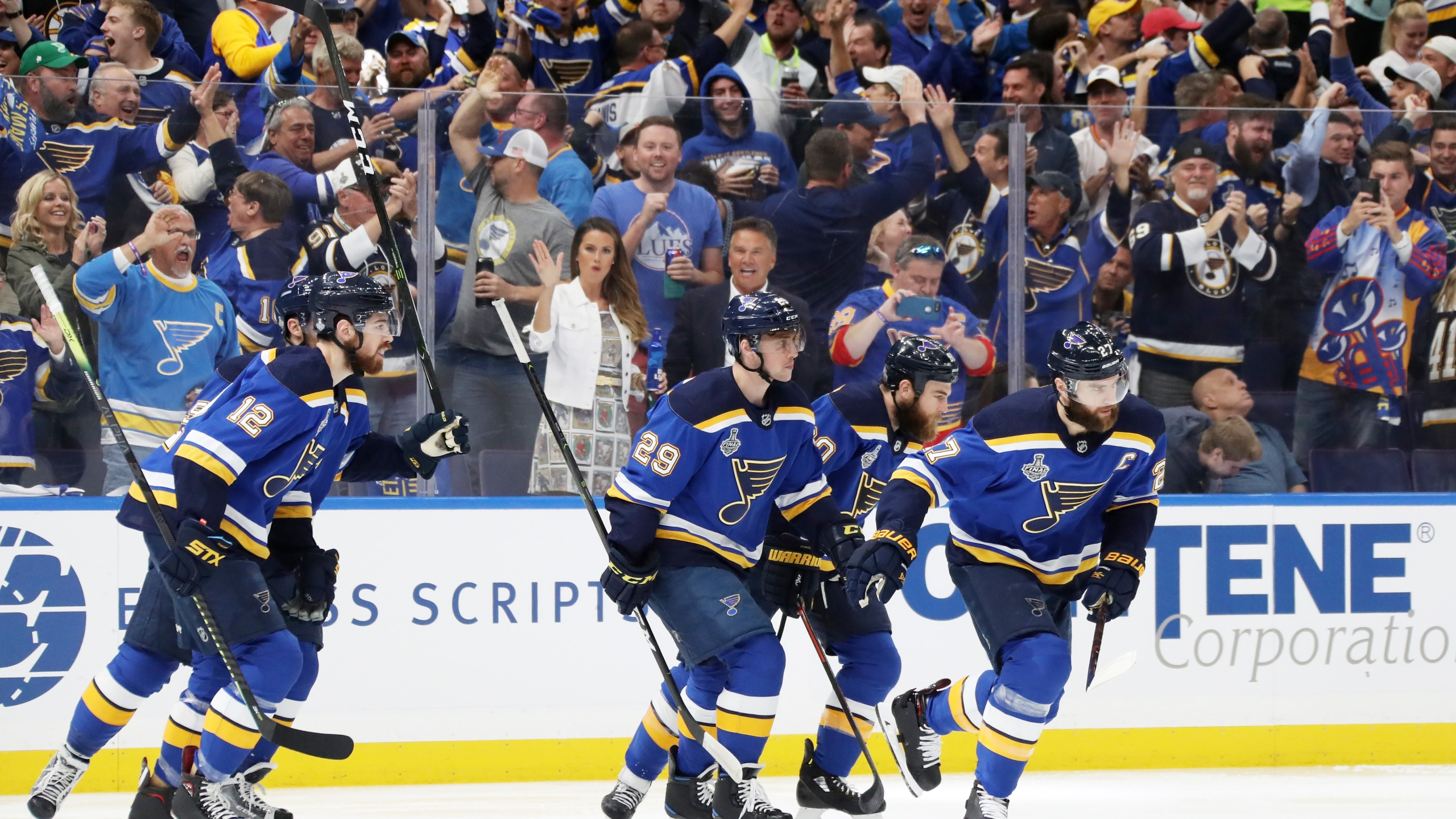 O Reilly Scores Two Goals As Blues Tie Stanley Cup Final With 4 2