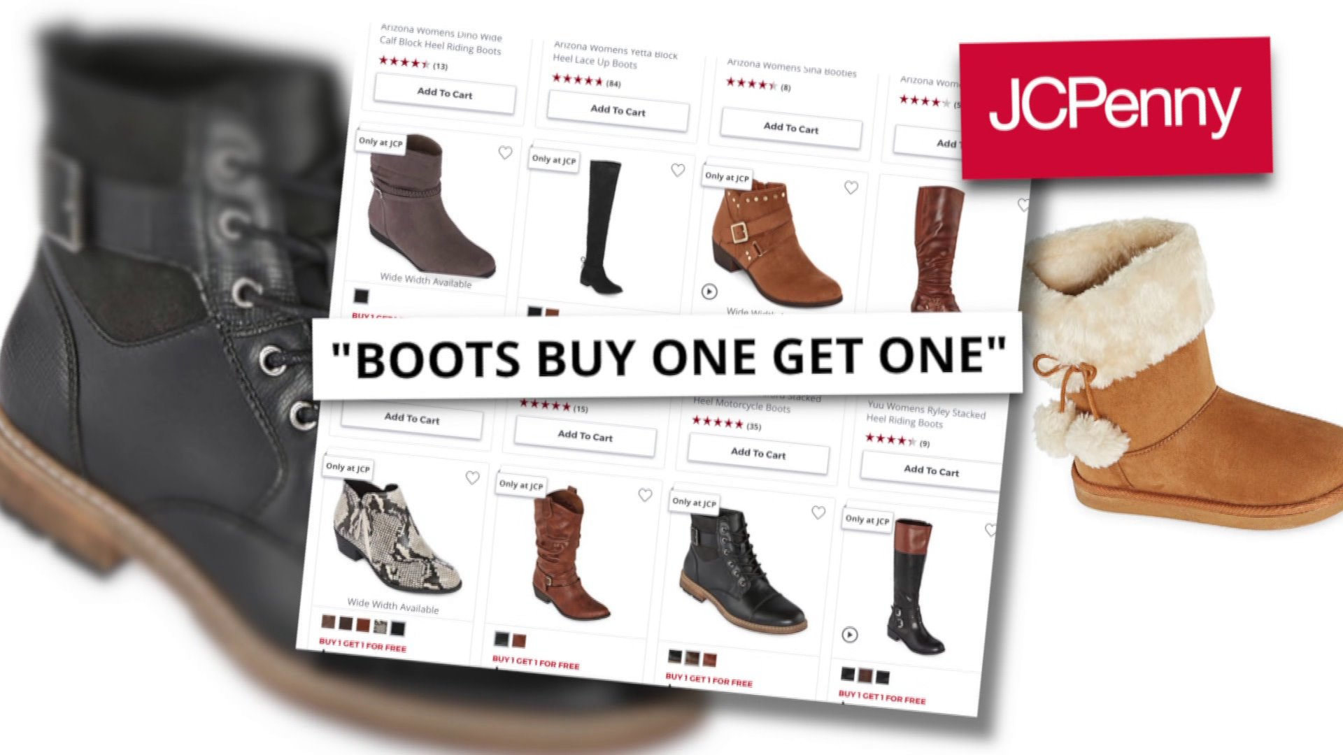 Money saver: 'Buy one, get one' boot