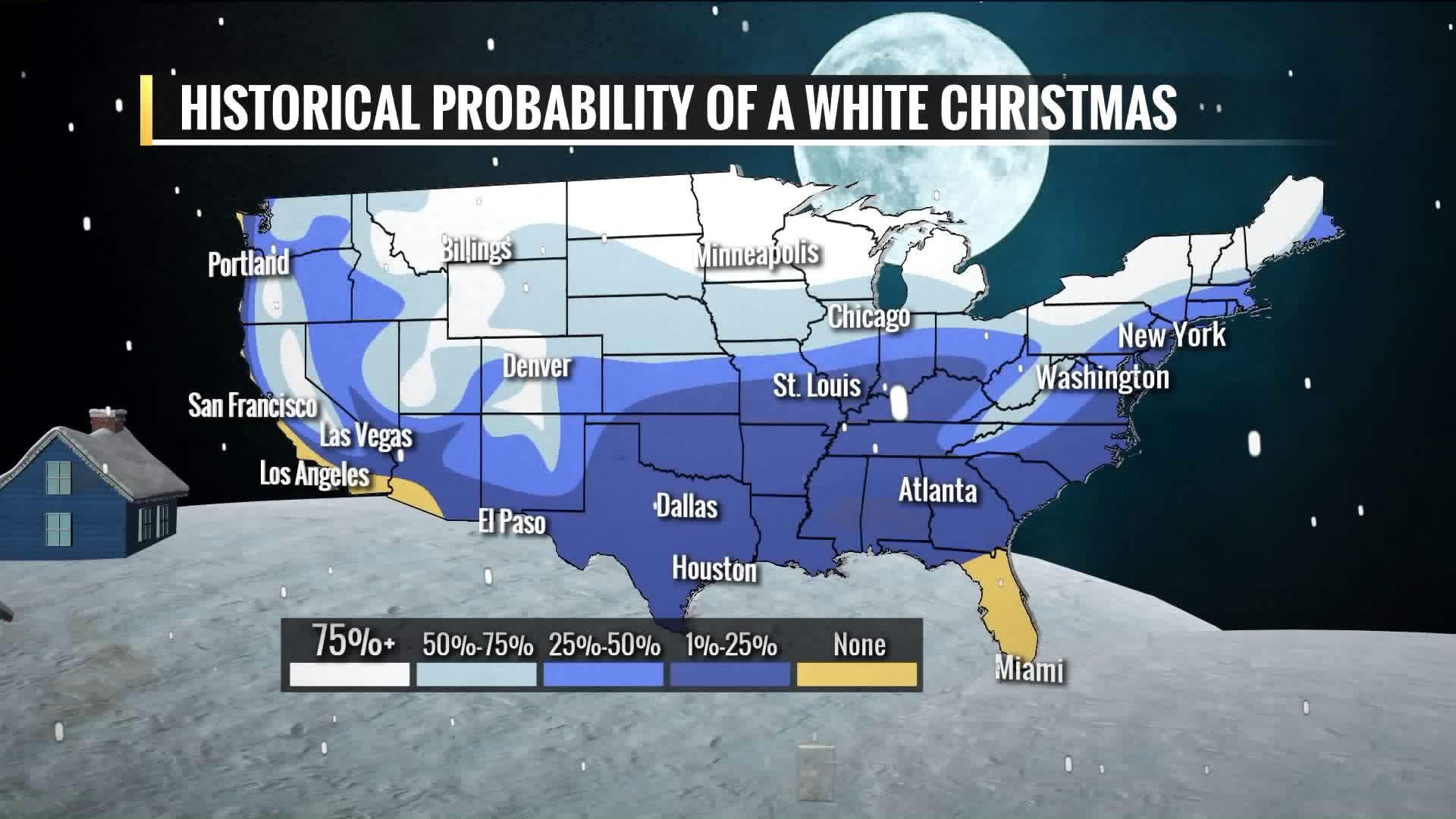 Will we have a white Christmas? Meteorologist Chris Higgins checks