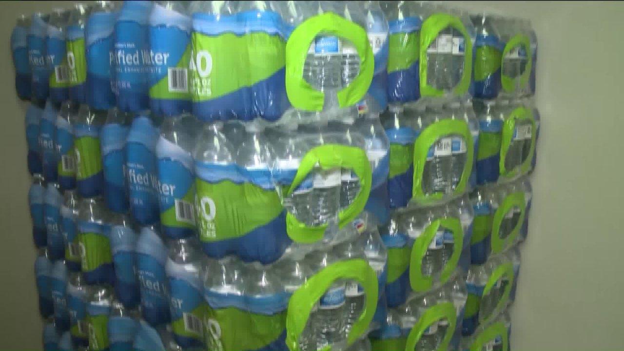 都市のリーグを出す場合の水Centreville住民が抱える水問題に