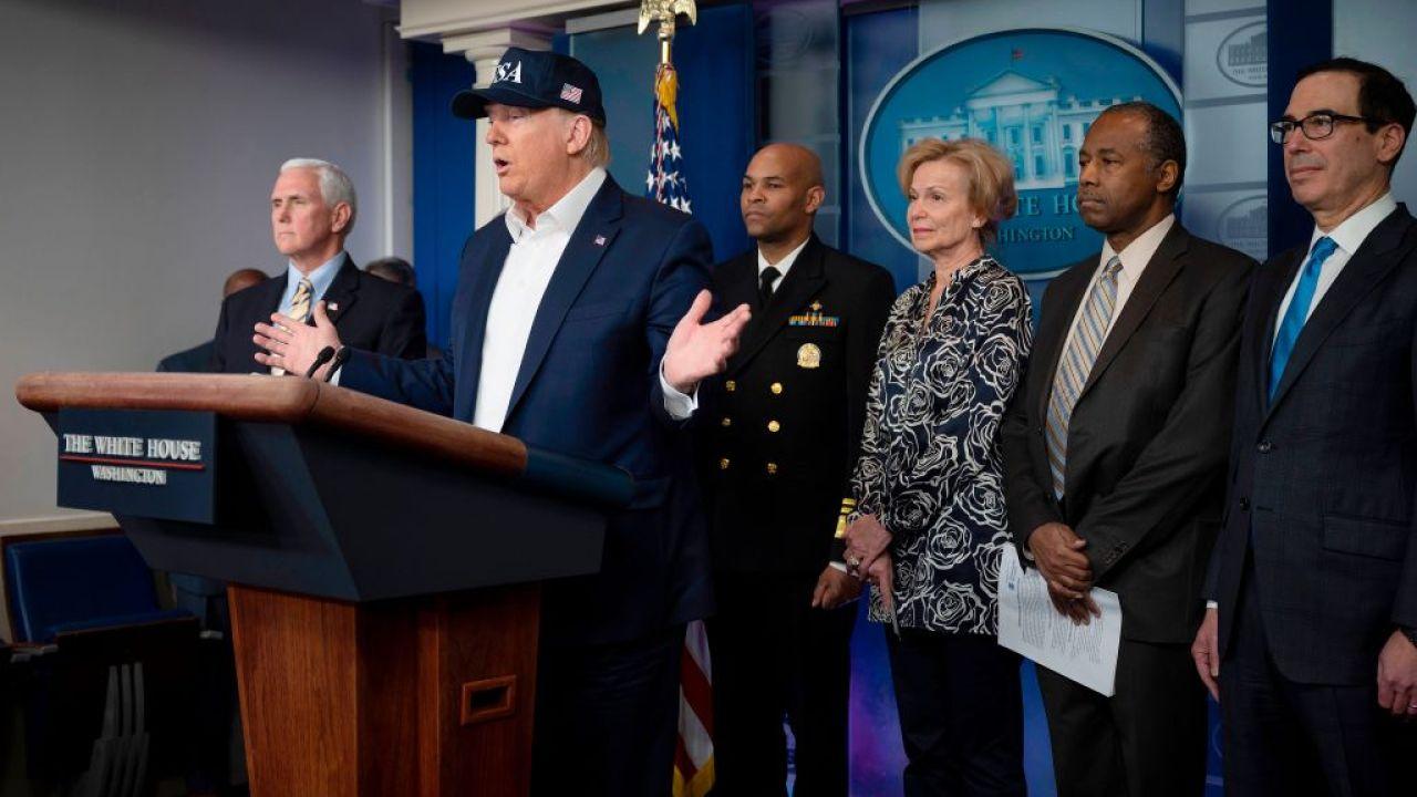 Presiden Trump mengatakan ia mengambil tes untuk coronavirus