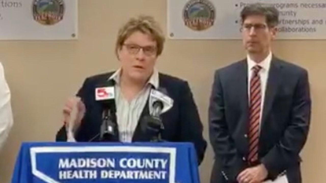 Madison County, Illinois berichten die ersten positiven coronavirus-Fall