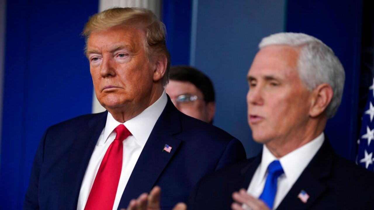 White House update: Vice President-Pence-und die Frau getestet coronaviurs; 195,000 Amerikaner getestet