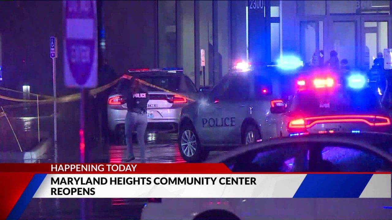 Maryland Heights Community Center öffnet nach der tödlichen Schießerei