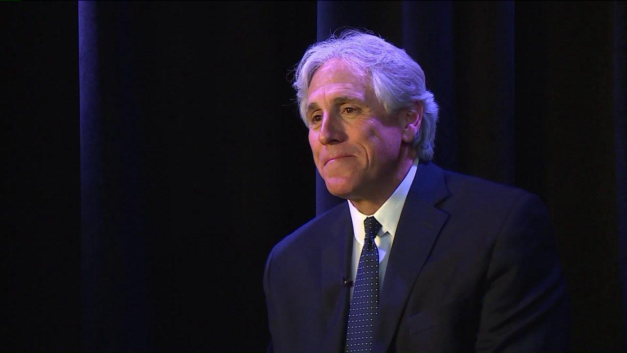 Mantovani wieder läuft für St. Louis County executive FFF, sagt business-Erfahrung macht ihn einzigartig qualifiziert für job