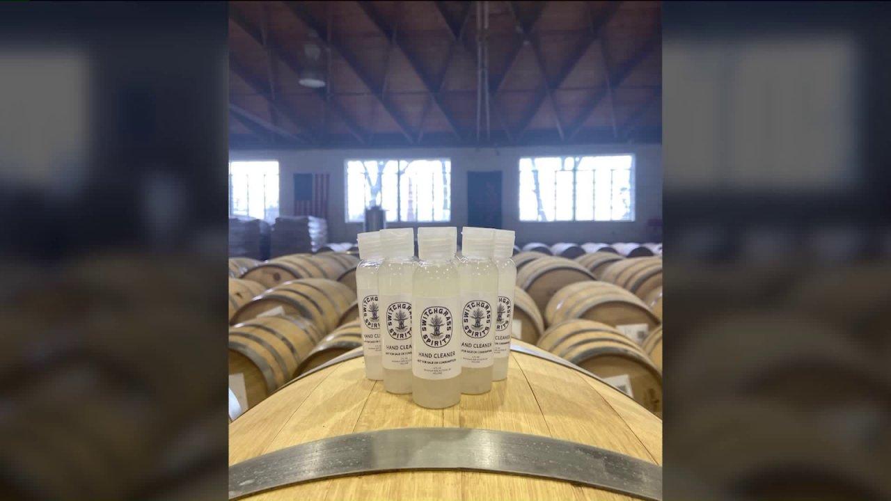 Neue Destillerie in Wellston mit Alkohol zu machen Händedesinfektionsmittel für die Gemeinschaft
