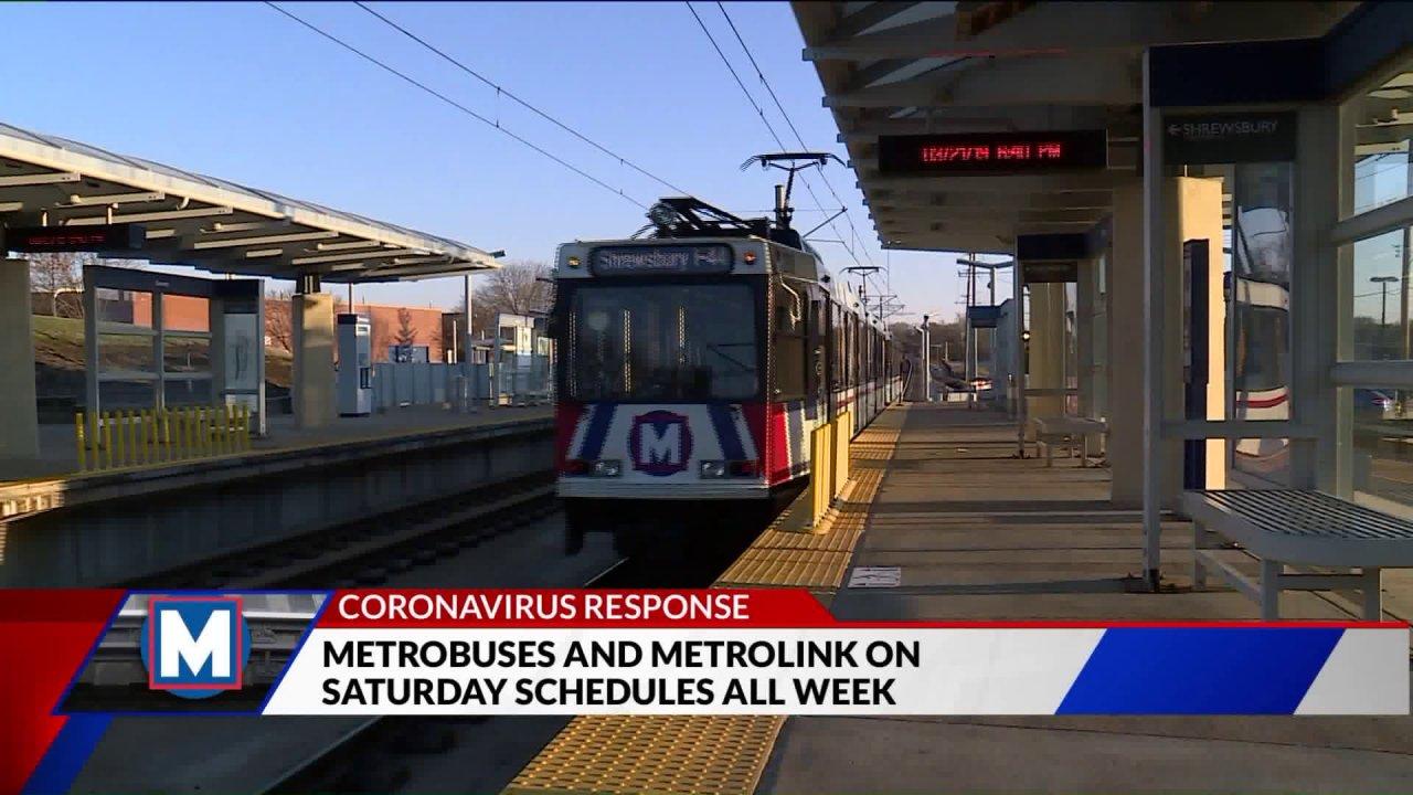 Μετρό-Διαμετακόμιση ρυθμίζει τα χρονοδιαγράμματα για coronavirus ανησυχίες
