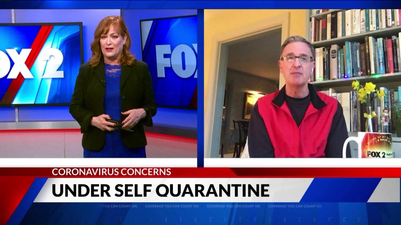 FOX 2 άγκυρα Τζον Pertzborn μετοχών πώς είναι η ζωή κάτω από την αυτο-απομόνωσης
