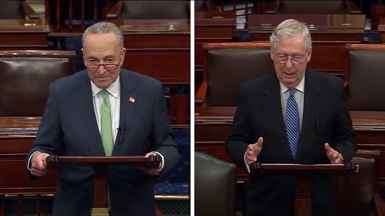 Weißes Haus, Senat erreichen historischen $2 Billionen stimulus-Angebot inmitten der wachsenden ängste coronavirus