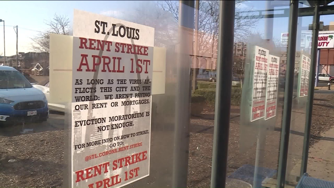 St. Louis ενοικιαστές οργάνωση ενοικίαση απεργία λόγω της COVID-19