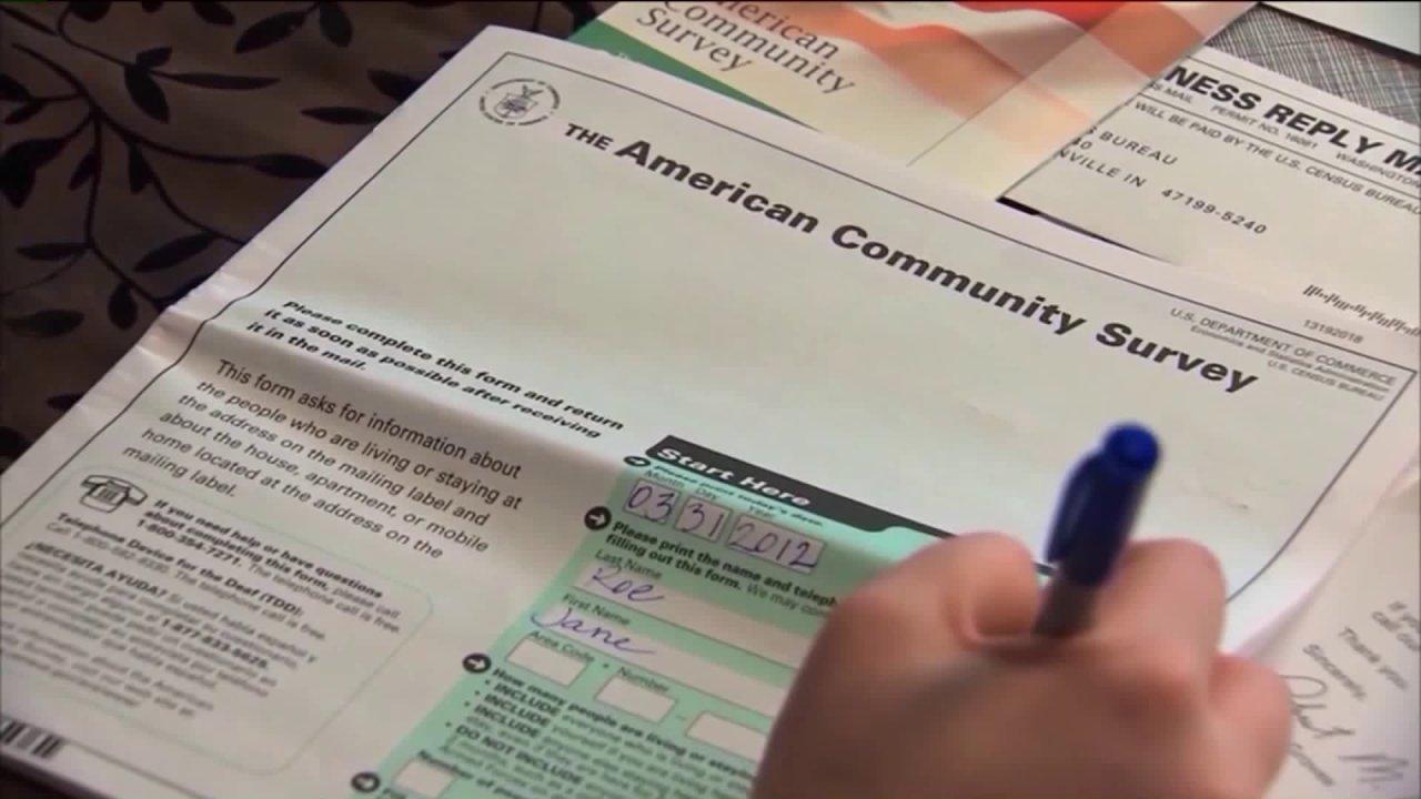 Τοπική νομοθέτες προτρέποντας τους κατοίκους να ΜΑΣ απαντήσει Απογραφή