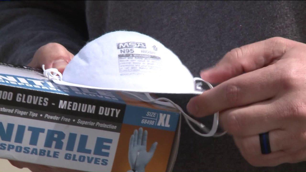 Madison County Διαχείρισης καταστάσεων έκτακτης Ανάγκης, ζητώντας δωρεές για ΜΑΠ