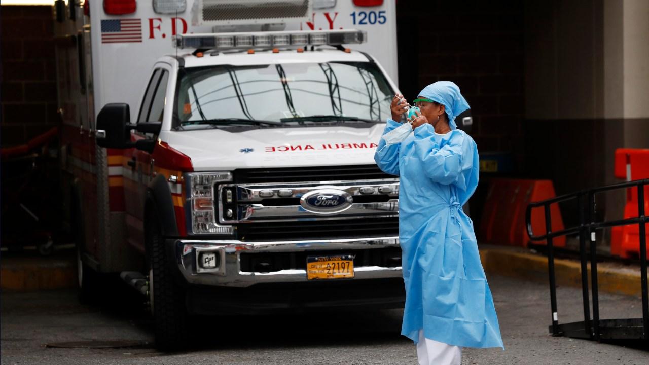 3 in 4 Krankenhäusern, die bereits mit COVID-19, mit Schlimmste noch kommen