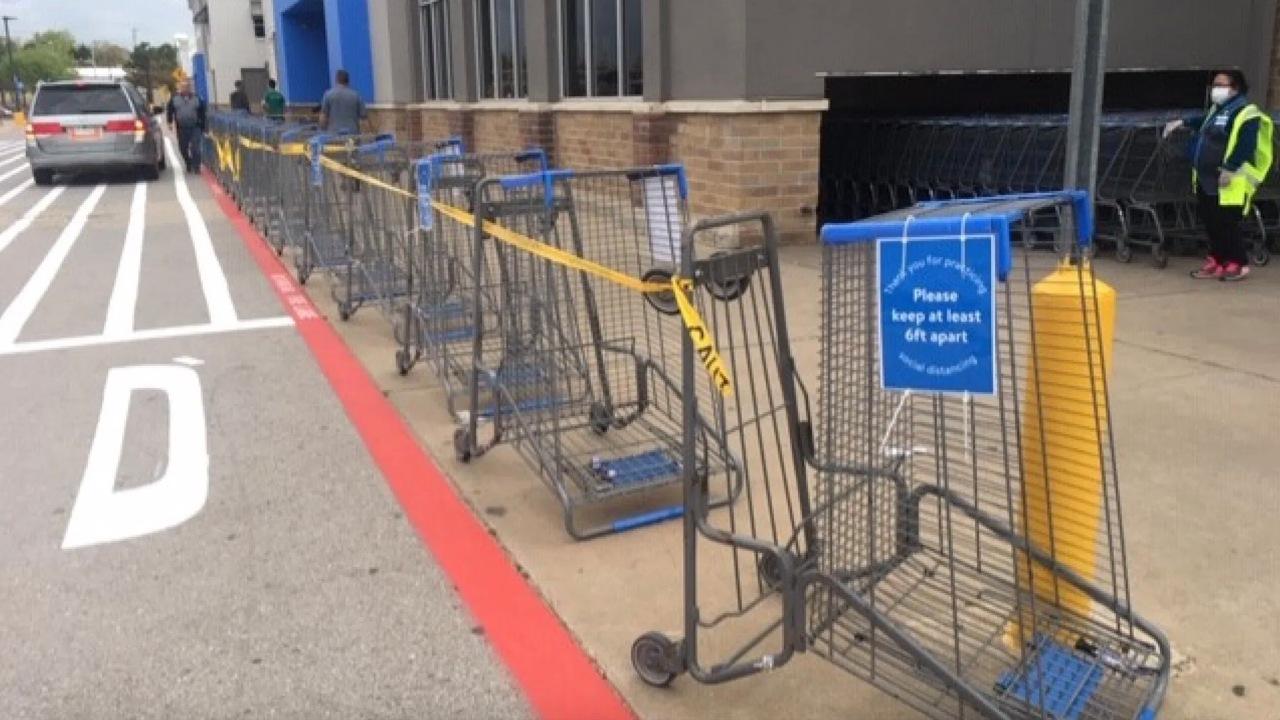Walmart beschränken der Anzahl der Kunden in den Läden ab dem 4. April