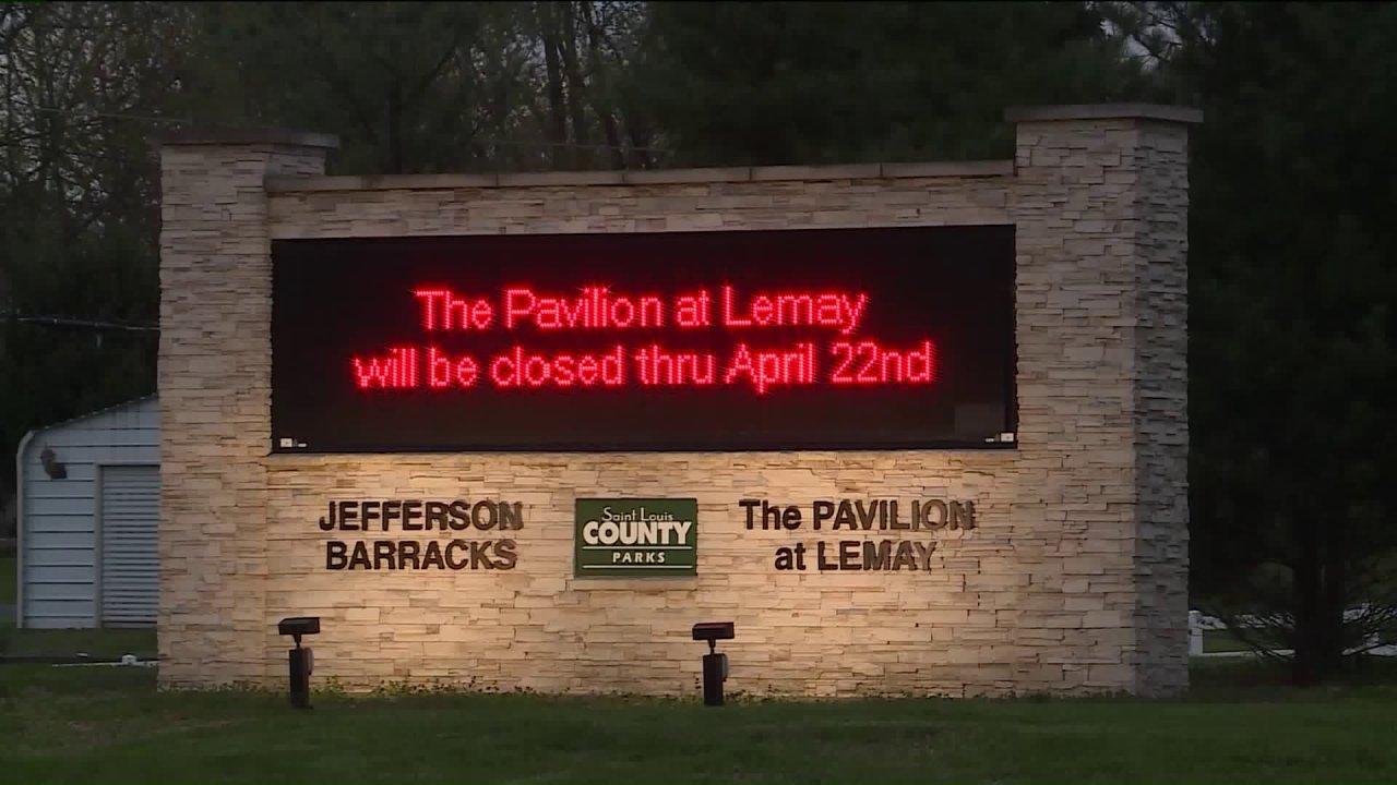 Του αγίου Louis County πάρκα κλειστά για την ώρα