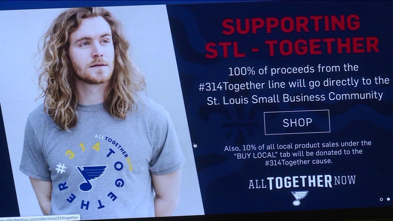 Memberikan kembali melalui penjualan #314Together swag