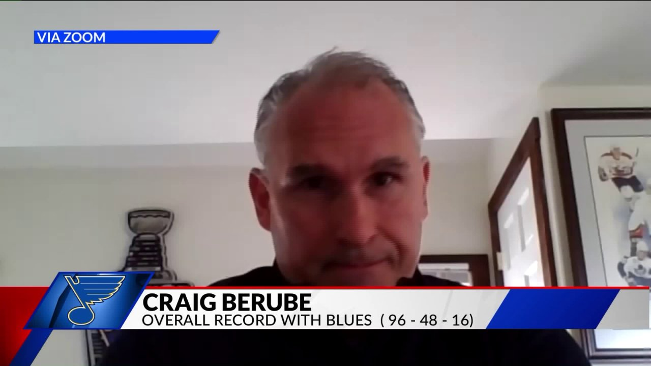 Fox 2 berbicara dengan Blues pelatih tentang kehidupan sementara musim NHL ditahan