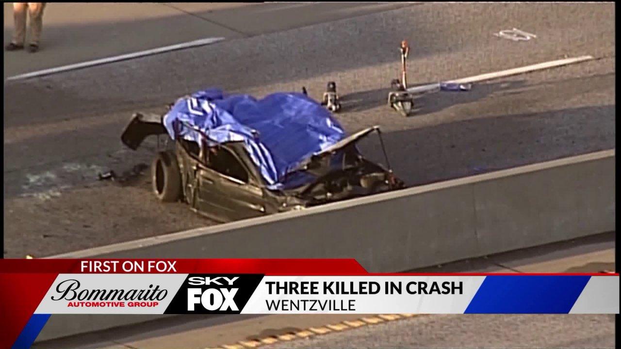 Tiga tewas dalam kecelakaan di I-70 di Wentzville
