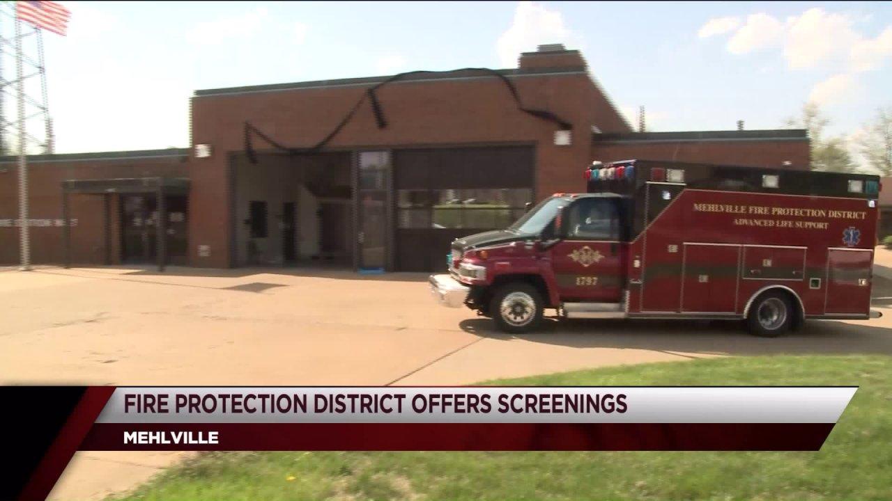 Mehlville Proteksi Kebakaran Kabupaten luncurkan COVID Mobile sebagai bantuan untuk rumah sakit