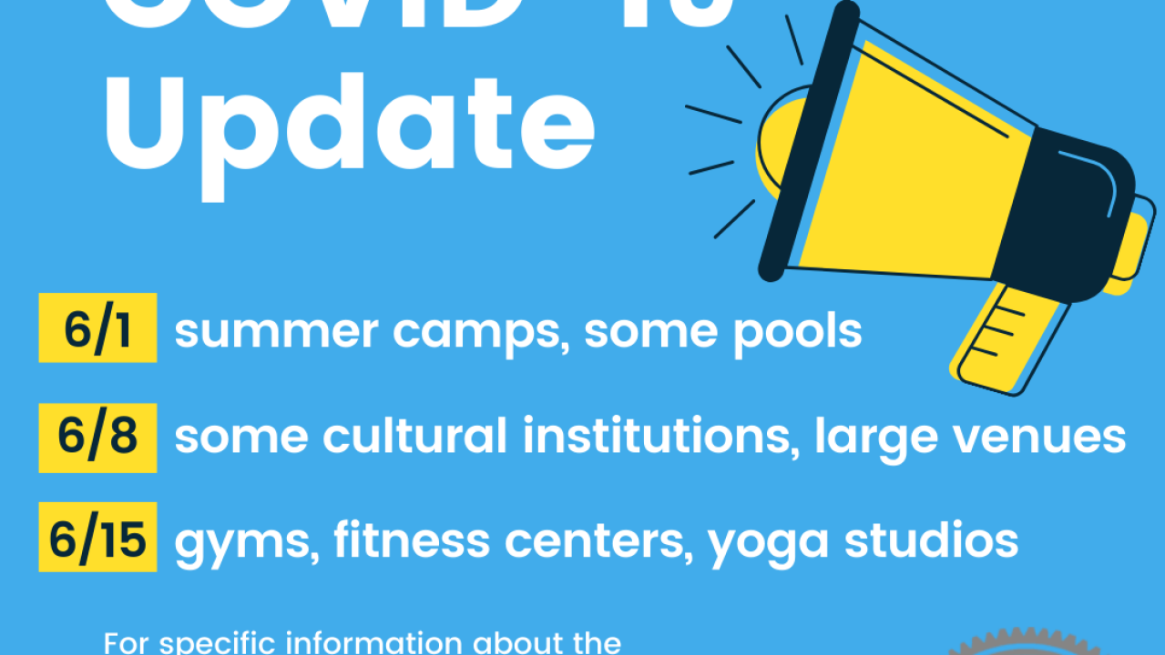 Gyms, summer camps, pools, and large venues to reopen this June in St. Louis City