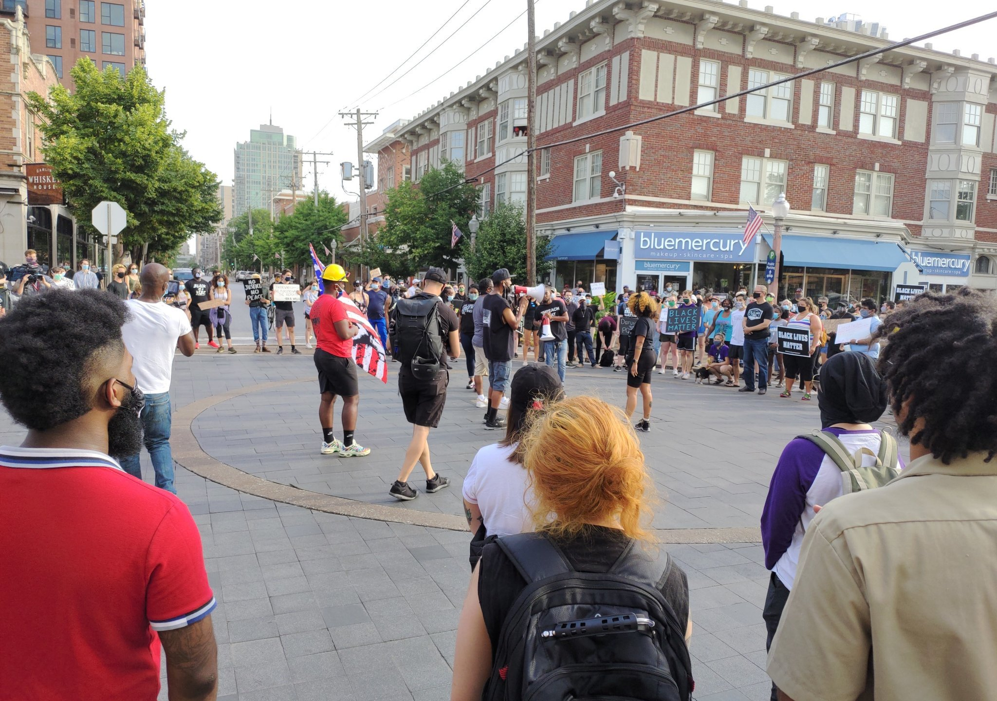 In response to St. Louis Mayor Lyda Krewson reading the names and addresses of people protesting the city's policing budget, Expect US is hosting a
