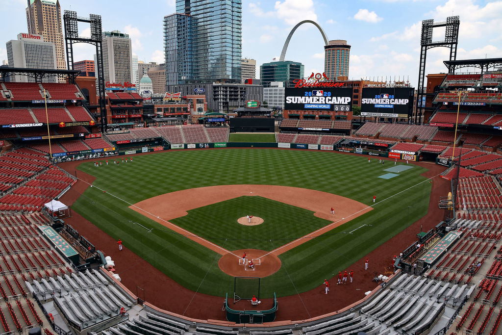 Cardinals play the Royals in an exhibition game at Busch Stadium today |  FOX 2