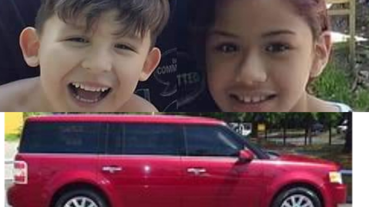 MCDONALD COUNTY, Mo. – The Missouri State Highway Patrol has issued an amber alert. They are searching for a missing 8-year-old and 4-year-old from