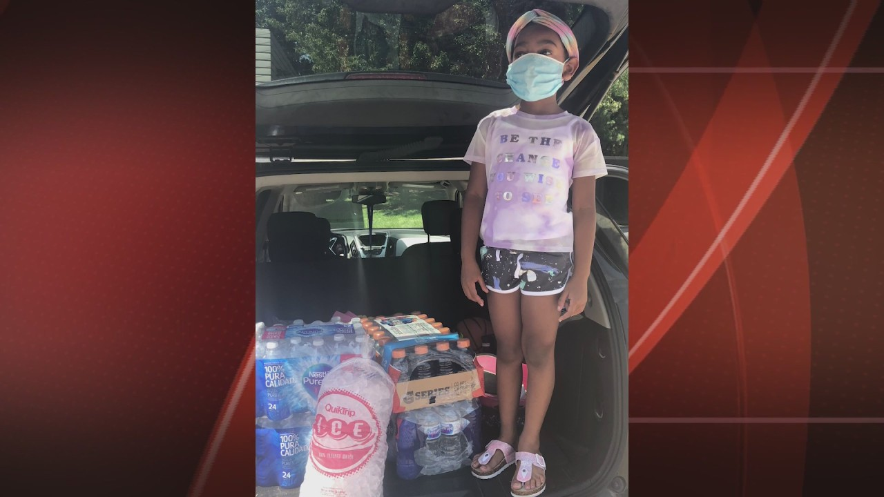 First-Grader Starts Foundation to Help Feed the Homeless in Downtown St. Louis