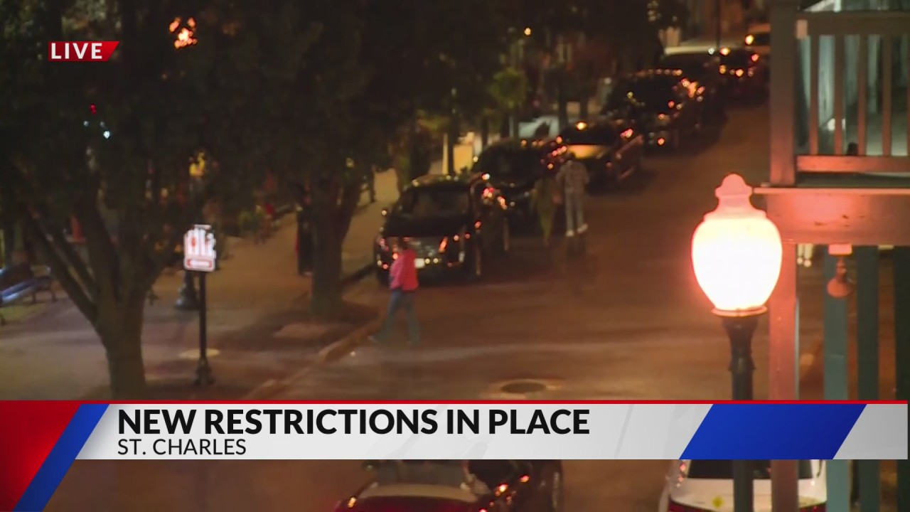 Main Street St. Charles under control so far in first big test under new COVID restrictions