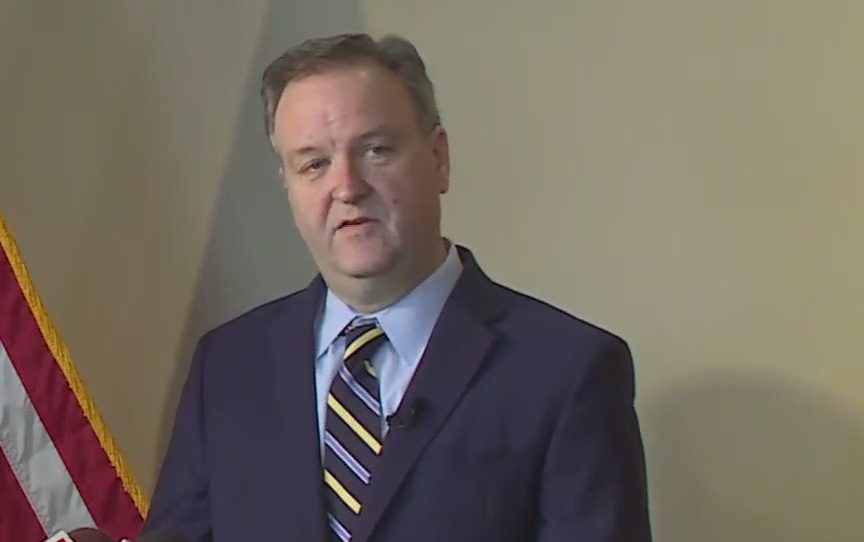 Watch: St. Louis County Executive Dr. Sam Page holds press briefing