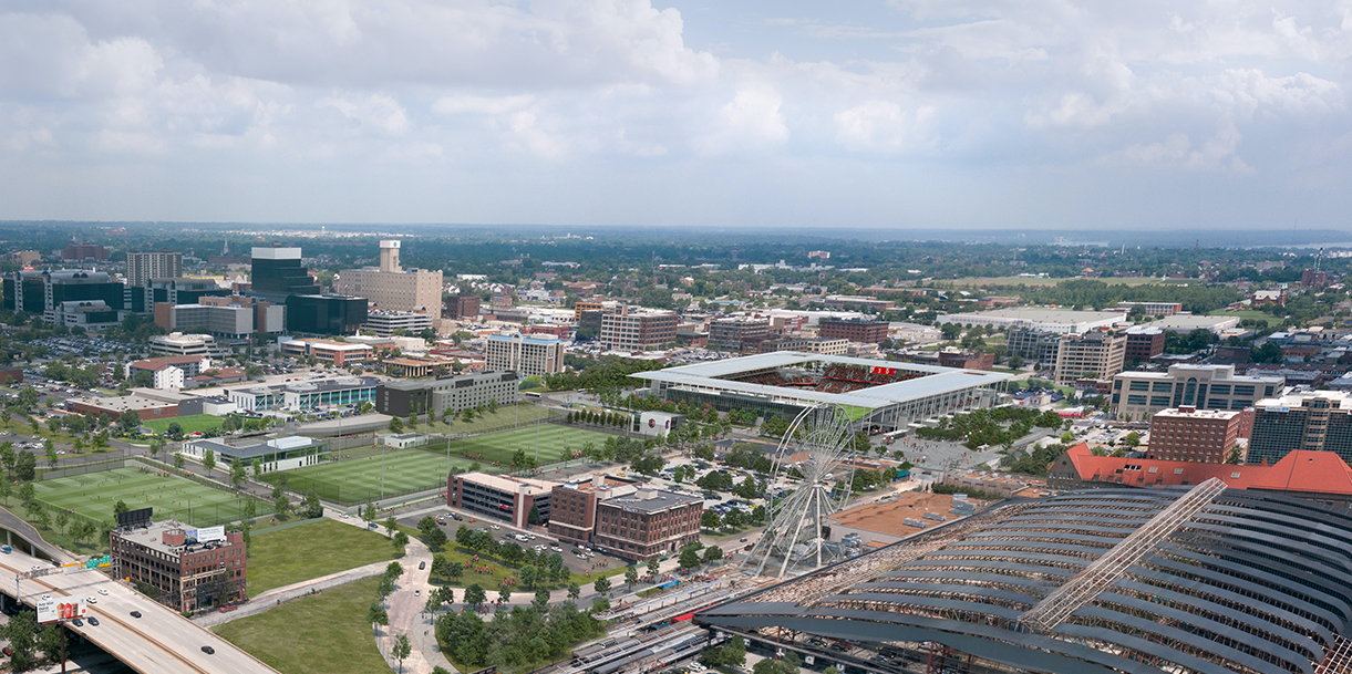 St. Louis CITY SC Campus Overview