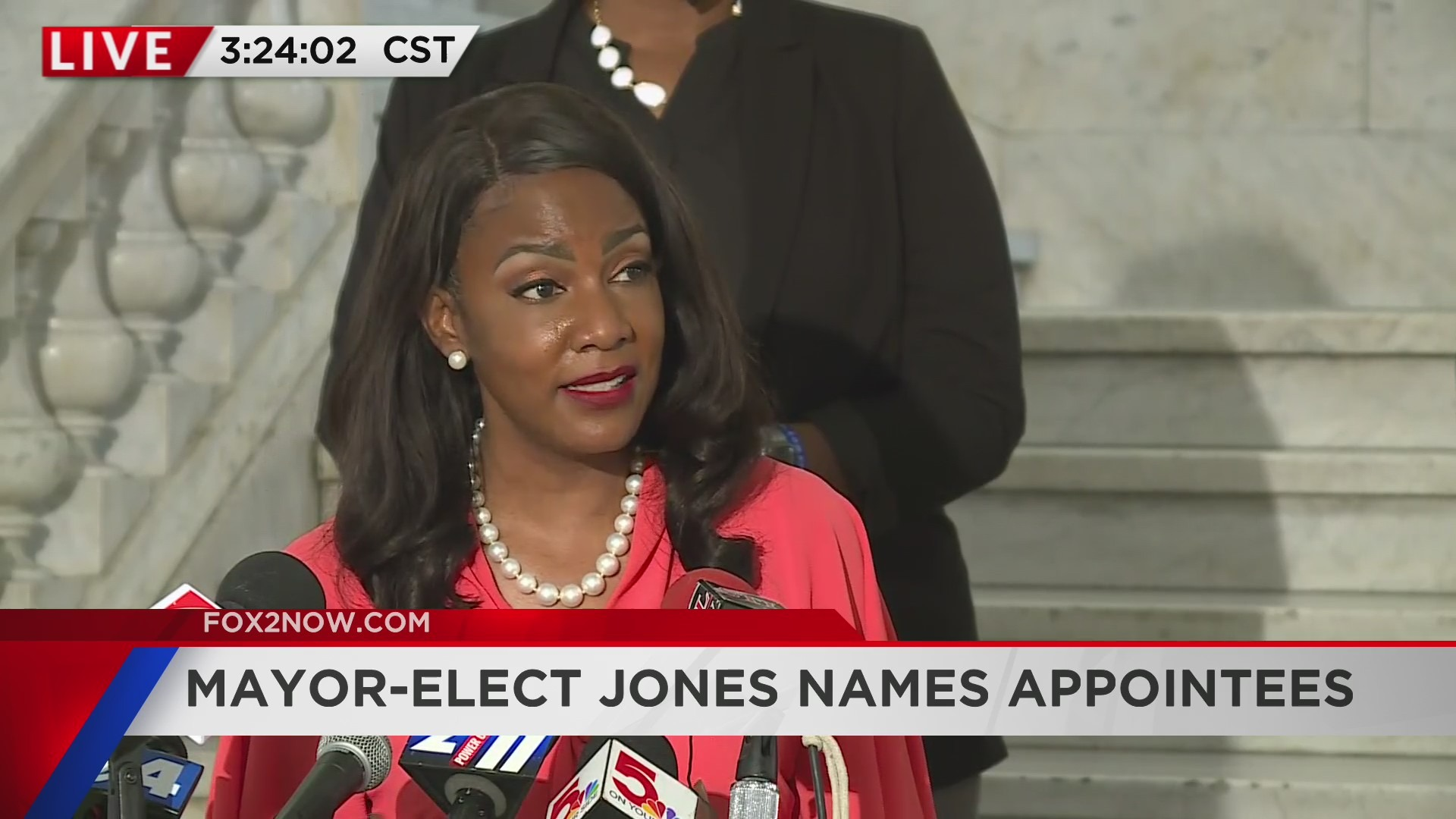 Mayor-elect Tishaura Jones