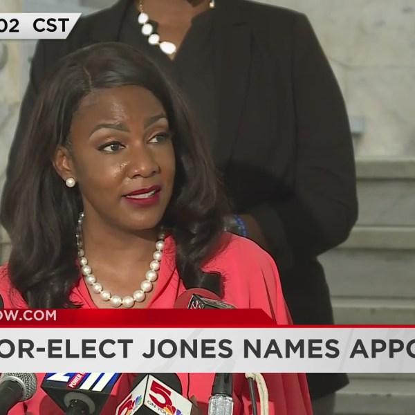 Mayor-elect Tishaura Jones