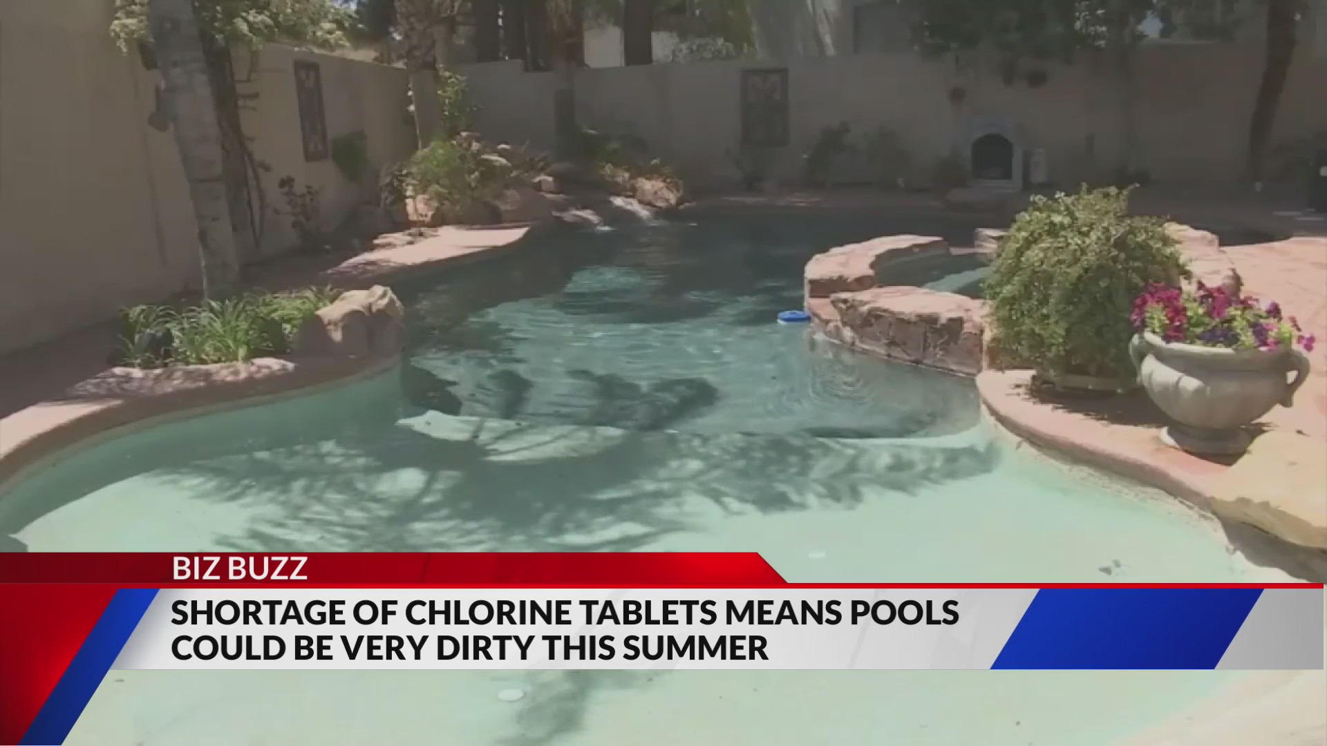 Your backyard summer oasis could be in jeopardy. Chlorine tablets commonly used in swimming pools to keep the water clean may be facing a shortage this summer leaving pool owners diving into deeper prices for the chemical.