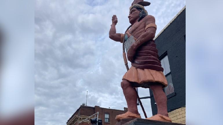 Cherokee Street Statue - Photo by Joe Millitzer