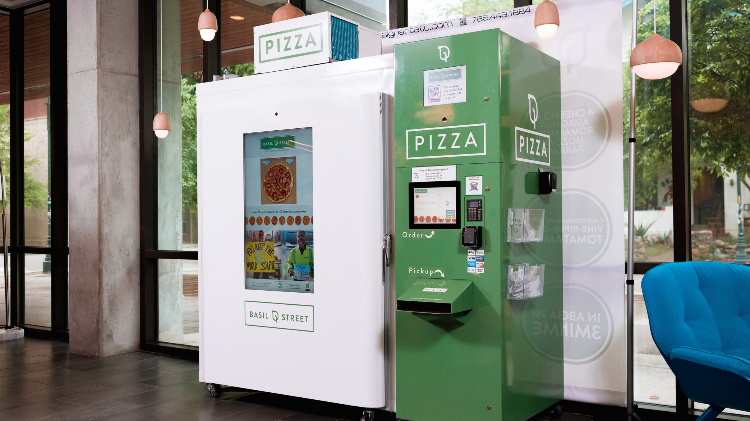 Basil Street Automated Pizza Kitchen (APK)